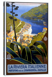 Leinwandbild  Italien - La Riviera Italienne - Travel Collection