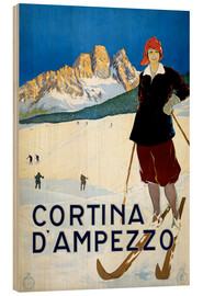 Holzbild  Cortina d'Ampezzo - Travel Collection