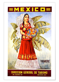 Premium-Poster  Mexiko - Tehuantepec - Travel Collection
