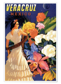 Premium-Poster  Veracruz, Golf von Mexiko - Travel Collection