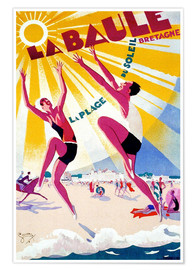 Premium-Poster  La Baule - Bretagne - Travel Collection