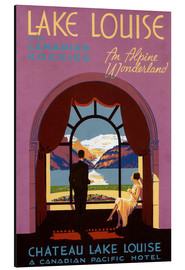 Alubild  Chateau Lake Louise - Advertising Collection