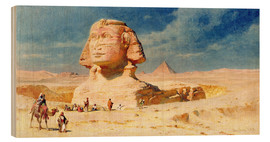 Holzbild  The Sphynx of Giza, 1874 - Carl Haag