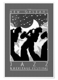 Premium-Poster  New Orleans - Jazz & Heritage Festival - Entertainment Collection