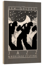 Holzbild  New Orleans - Jazz & Heritage Festival - Entertainment Collection