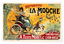 Premium-Poster  Voiturette La Mouche - Advertising Collection