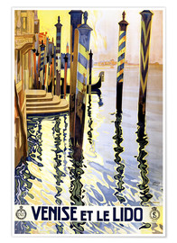 Premium-Poster  Italien - Venedig - Travel Collection