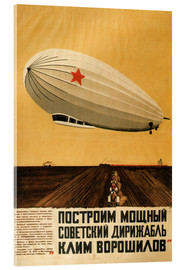 Acrylglasbild  Russischer Zeppelin - Travel Collection