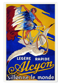 Premium-Poster  Alcyon - sillonne le monde - Advertising Collection