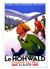 Premium-Poster  Le Hohwald, Elsass - Travel Collection