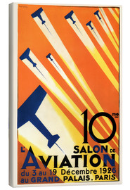 Leinwandbild  10. Salon de Aviation - Paris 1926 - Advertising Collection