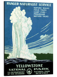 Alubild  Yellowstone Nationalpark - Travel Collection