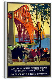 Leinwandbild  Forth Bridge London Railway