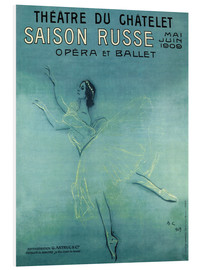 Hartschaumbild  Saison Russe - Opera et Ballet - Advertising Collection