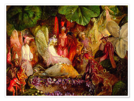 Poster The Fairie's Banquet, 1859