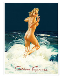 Premium-Poster Pin Up - Southern Exposure