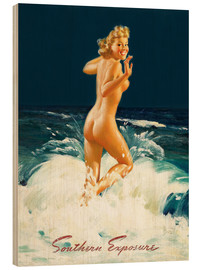 Holzbild  Pin Up - Southern Exposure - Al Buell