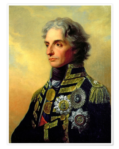 Premium-Poster Lord Horatio Nelson