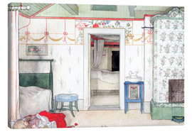 Leinwandbild  Britas Nickerchen - Carl Larsson