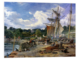 Forex  The Pier Head, Aberdour, Firth of Forth, 1865 - Samuel Bough