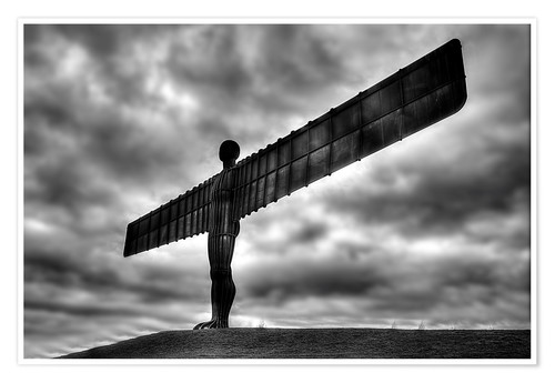 Premium-Poster Angel Of The North
