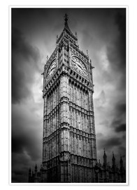 Poster  Big Ben London - Melanie Viola