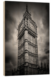 Holzbild  Big Ben London - Melanie Viola