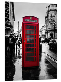 Forex  Rote Telefonzelle in London - Edith Albuschat