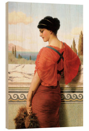 Holzbild  Phyleis - John William Godward