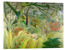 Henri Rousseau - Tiger in Tropensturm