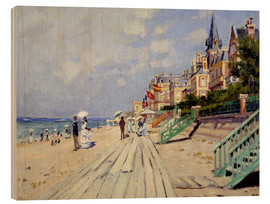 Claude Monet - Strand von Trouville