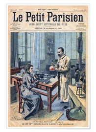 Poster Pierre & Marie Curie