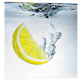 Acrylglasbild  lemon splash - Silvio Schoisswohl
