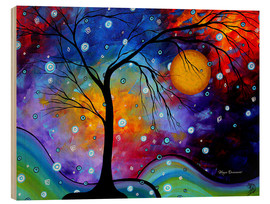 Holzbild  Winter Sparkle Alien Snap - Megan Duncanson