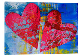 Acrylglasbild  Colorful Love - Andrea Haase