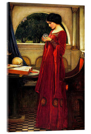 Acrylglasbild  Die Kristallkugel - John William Waterhouse