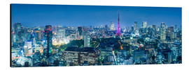 Alubild  Tokio Skyline - Jan Christopher Becke