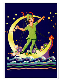 Premium-Poster  Peter Pan - Lawson Fenerty