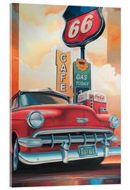 Acrylglas  Route 66 Cafe - Georg Huber