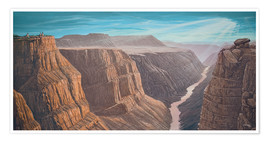 Premium-Poster  Grand Canyon - Georg Huber