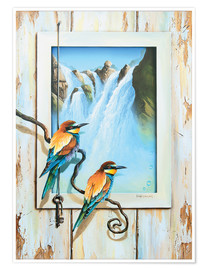 Premium-Poster  BIRDS OF IMAGINATION - Georg Huber