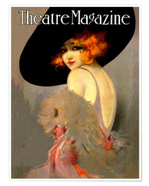 Premium-Poster  Theater Magazine Vintage Mode - Advertising Collection