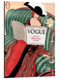 Alubild  Die Vogue   Vintage opulent - Advertising Collection