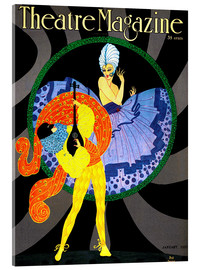 Acrylglasbild  Theatre Magazine New York - Advertising Collection