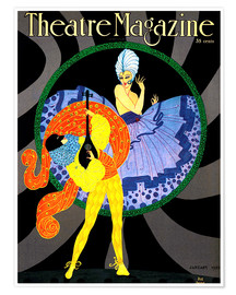 Premium-Poster Theatre Magazine New York