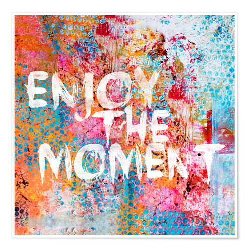 Premium-Poster Enjoy the moment II