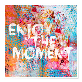 Premium-Poster  Enjoy the moment II - Andrea Haase