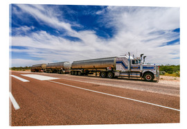Acrylglasbild  Road Train Australien - Thomas Hagenau