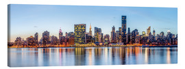 Leinwandbild  New York Midtown Manhattan Skyline - Sascha Kilmer
