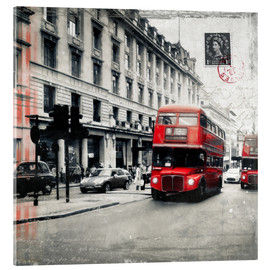 Acrylglasbild  Postcard From London | 03 - Frank Wächter